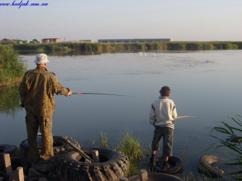 Рыбалка на лимане