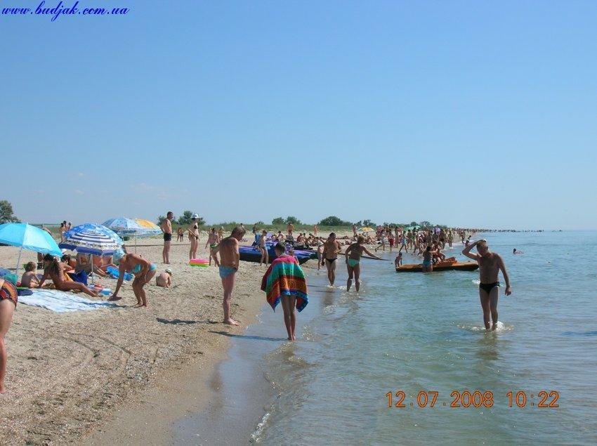 Пляж и море на курорте Катранки 6