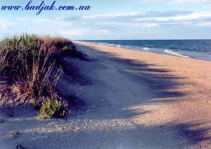 Пляж курорта Катранка