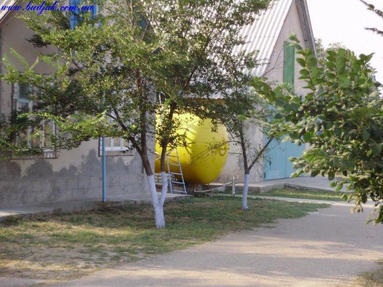Территория базы отдыха Прибой