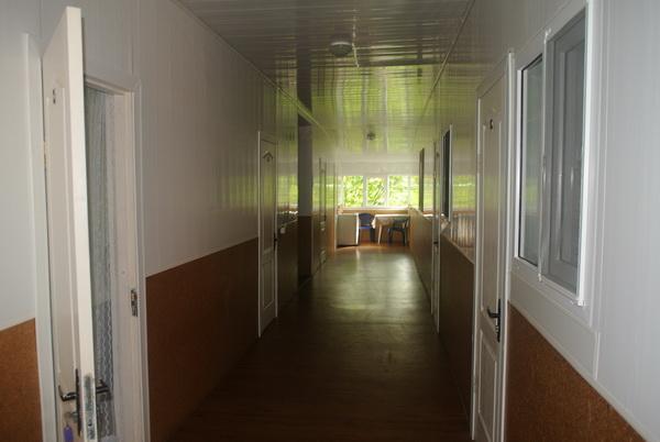 Пансионат-кафе «Минутка» на семейном курорте Лебедевка