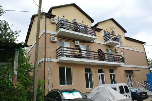 Новый корпус VIP номеров на базе отдыха Одиссей (курорт Лебедевка)