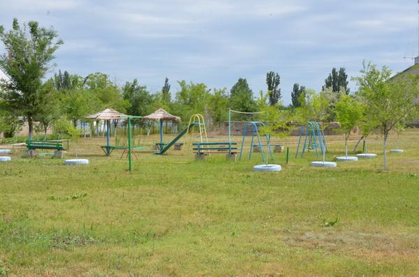 Территория базы отдыха Беларусь (Рассейка)
